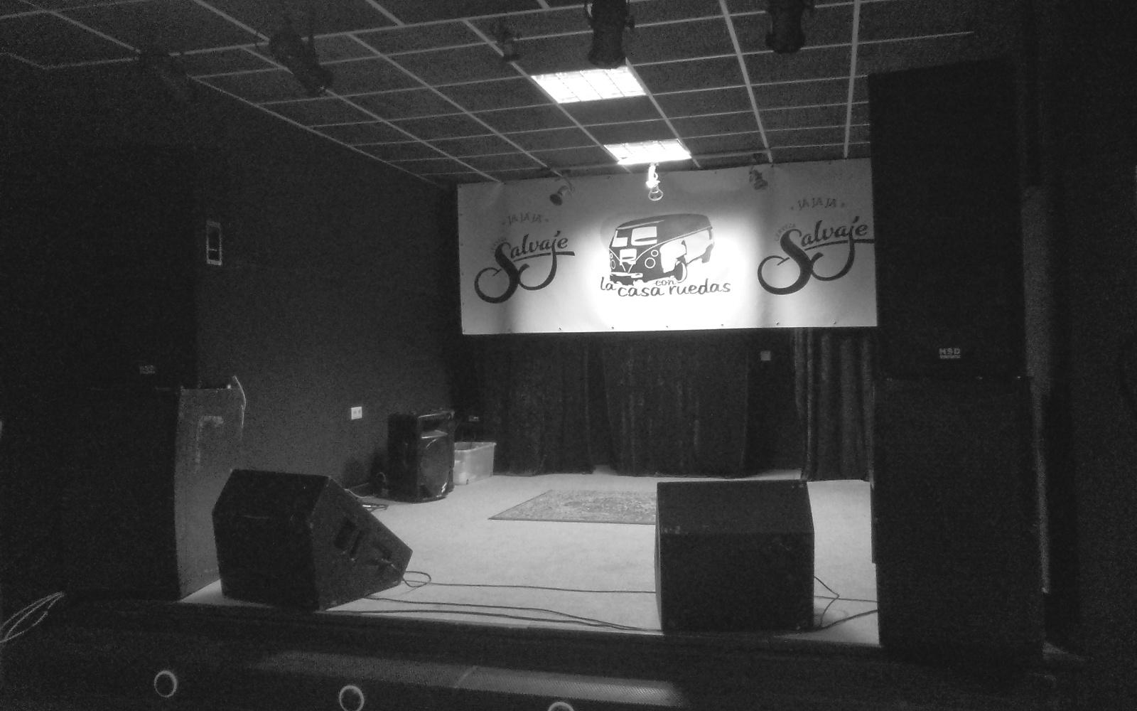 escenario frente